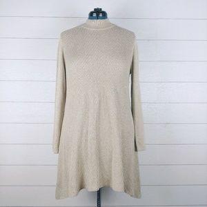 Style & Co / Tunic Sweater w/ Handkerchief hemline
